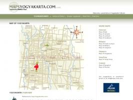 Maps Yogyakarta - Yogyakarta Tourist Maps