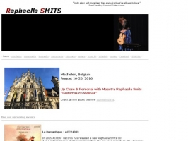 Raphaella Smits, classical guitarist