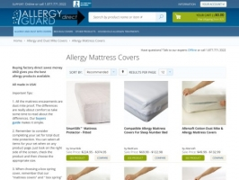 Allergy Guard Direct Dust Mite Covers