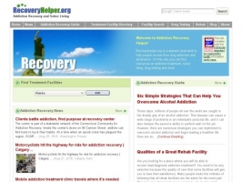 Recovery Helper: Addiction Recovery Helper