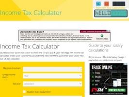 Income Tax Salary Calculator