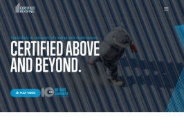 Certified Roofing