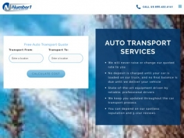 Number 1 Auto Transport - Car Transport Services