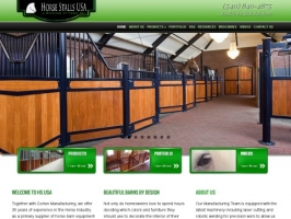 Barns and arena setups; stabling equipment; other