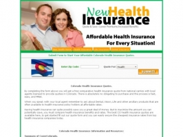 Colorado Health Insurance Quote
