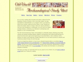 Old World Archaeological Study Unit