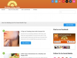Healthy Living Daily - Health, Wellness, Life
