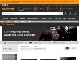 Halfords: Car Audio