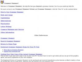 Grammar Slammer Online