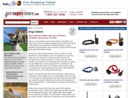 Pet Super Store: Dog Training Collars