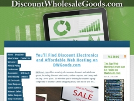 Visit DWGoods.com for Cheap Electronics & Web Hosting Deals