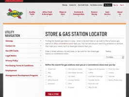 Gas Station Locator
