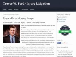 Trevor Ford - Calgary Personal Injury Lawyer