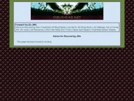 VirusHeads Advice to Ex-JWs