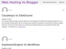 WebHostingVsBlogger.com