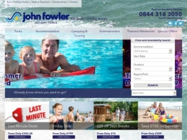 John Fowler Caravan Holiday
