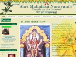 Shri Mahalasas Temple on the Internet