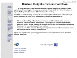 Hudson Heights Owners Coalition