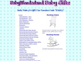 Baby Gifts & Baby Gift Baskets by BabyWonderland
