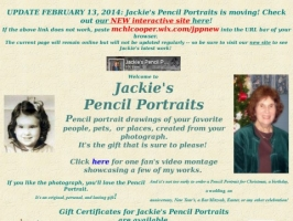 Pencil portraits of your loved ones - a perfect gi