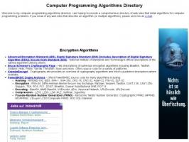 Computer Programming Algorithms Directory
