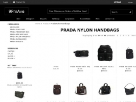 Prada Nylon Handbags