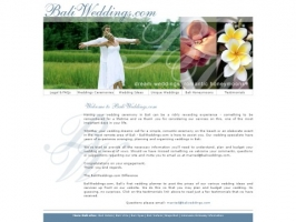 Bali Weddings & Honeymoons