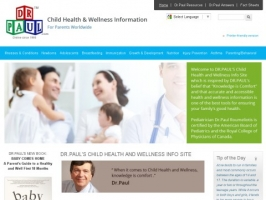 DR.PAULS CHILD HEALTH AND WELLNESS INFO SITE