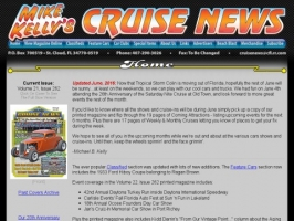 Mike Kellys Cruise News
