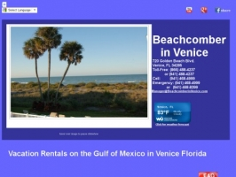 Beachcomber in Venice FL Vacation Rental