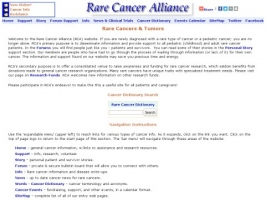 Adult Rare Cancers & Pediatric Cancers