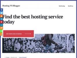 Hosting Vs Blogger