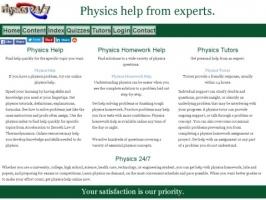 Physics 24/7 Homework Helpers