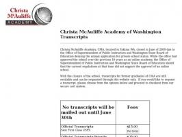 CMA - Homeschool Distance Learning