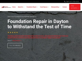 Concrete Foundation Repair Dayton Ohio