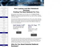 Mini Laptops and Notebooks.com