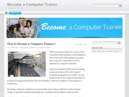 Become a computer trainer