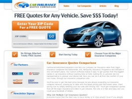 Car, Auto Insurance Quotes Comparison