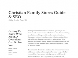 Christian Family Stores Guide