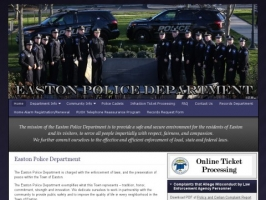 Easton Connecticute Police Department