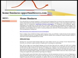 Legitimate Home Based Business Opportunities