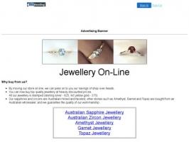 AUSTRALIAN Sapphire & Zircon Jewellery plus more.