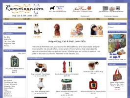 Dog and Cat Merchandise and Pet Lover Gifts