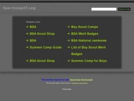 Boy Scout Troop 37 Elon, Virginia