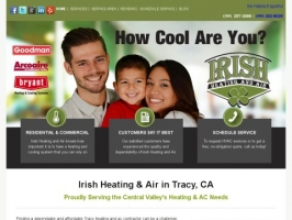 Irish Heating and Air: Air Conditioning Repair in Tracy