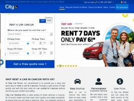 Cancun Car Rental at the Best Price   Rent a Car Cancun