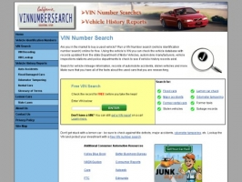 VIN Number Search
