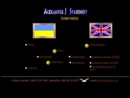 Sparinsky Alexander - Ukrainian composer&producer