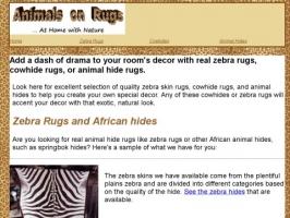 Animals on Rugs