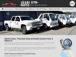 Oakland Towing & Roadside Services   Silverline Towing